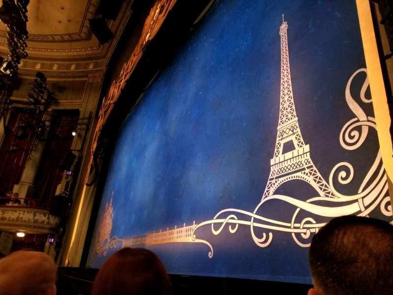 Broadhurst Theatre, Abschnitt: Orchestra-Right, Reihe: B, Platz: 12