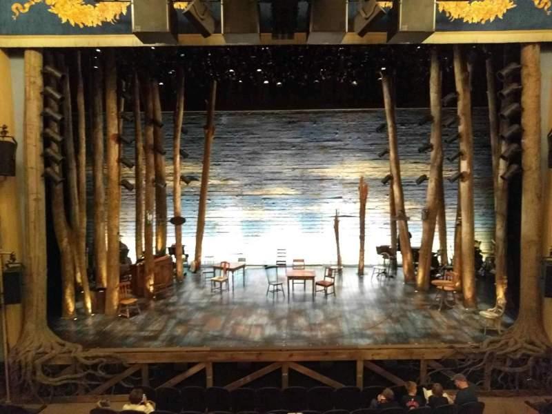 Gerald Schoenfeld Theatre, Abschnitt: Mezzanine, Reihe: A, Platz: 107