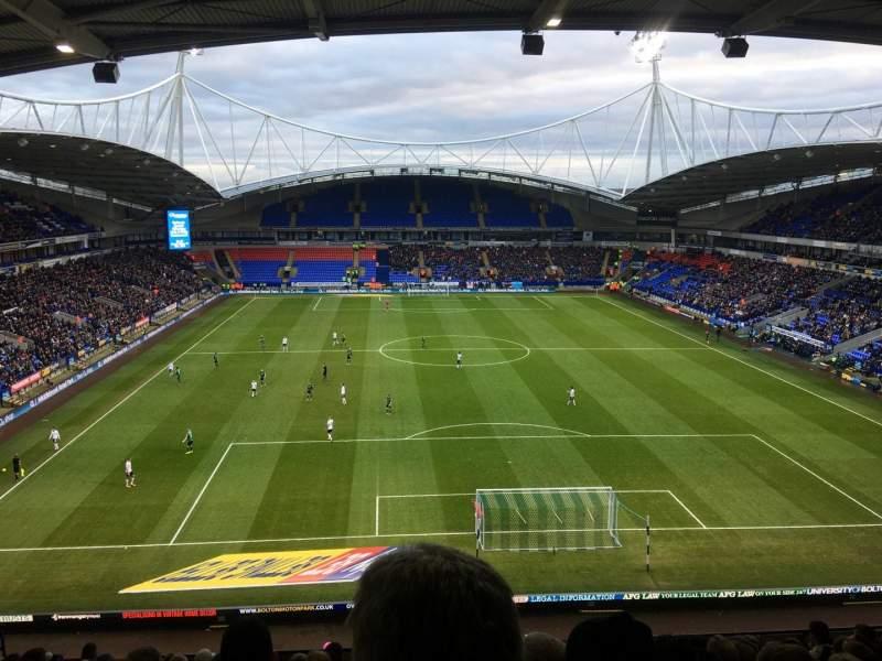 Sitzplatz-Aussicht für University of Bolton Stadium Abschnitt N Reihe LL Platz 59