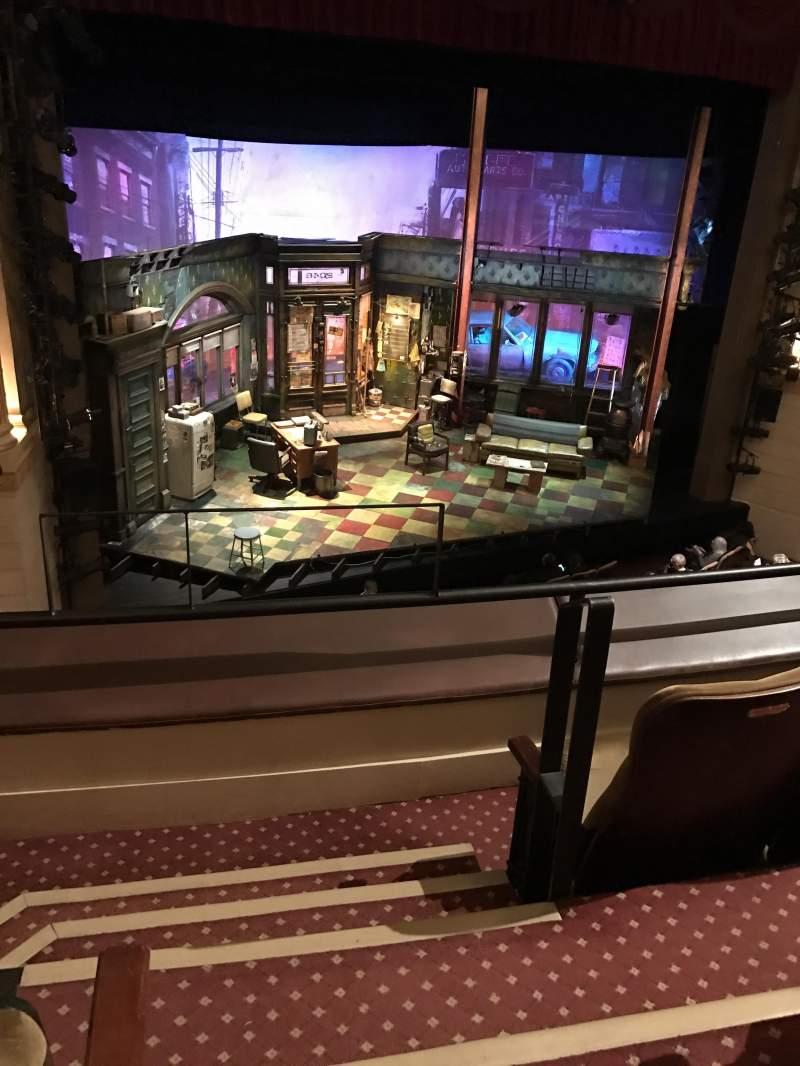 Sitzplatz-Aussicht für Samuel J. Friedman Theatre Abschnitt Mezzanine Reihe A Platz 1