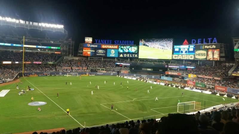 Sitzplatz-Aussicht für Yankee Stadium Abschnitt 216 Reihe 16 Platz 20