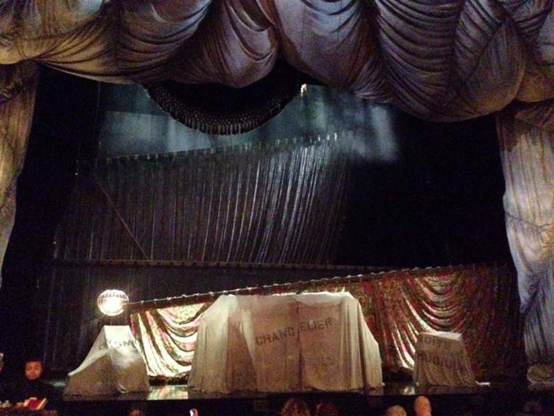 Sitzplatz-Aussicht für Majestic Theatre Abschnitt ORCC Reihe G Platz 103 and 10