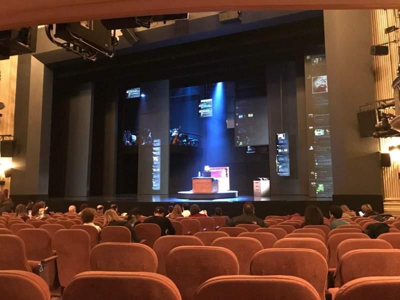 Music Box Theatre, Abschnitt: ORCR, Reihe: N, Platz: 6, 8 And 1