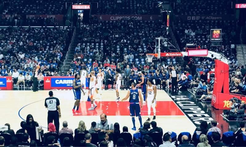 Staples Center, Abschnitt: 110, Reihe: 13, Platz: 12