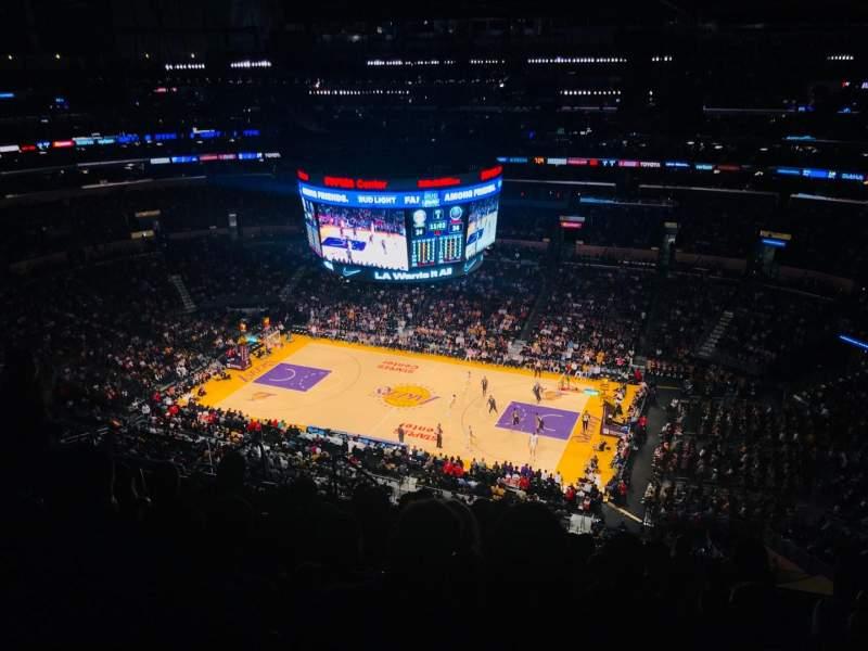 Sitzplatz-Aussicht für Staples Center Abschnitt 333 Reihe 10 Platz 13