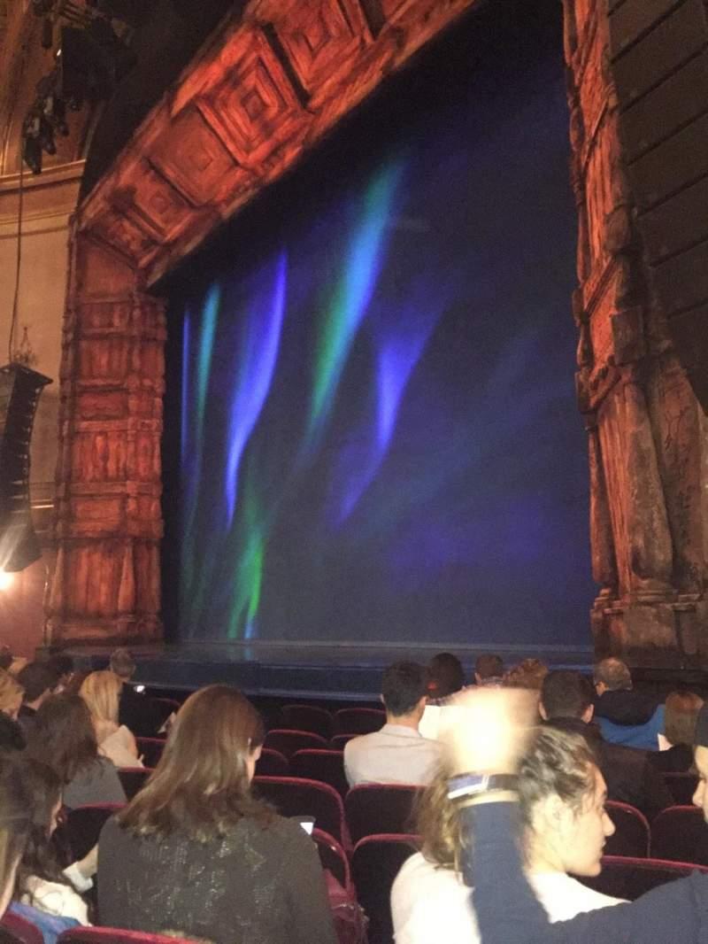 Sitzplatz-Aussicht für St. James Theatre Abschnitt Orchestra R Reihe G Platz 22