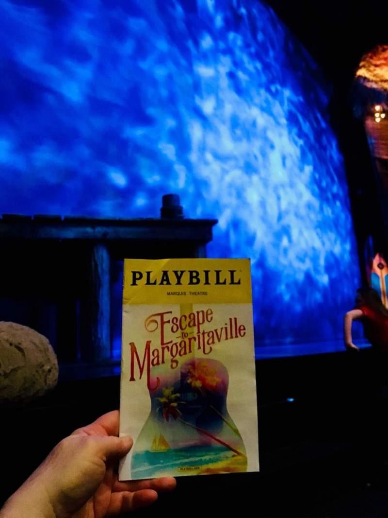 Marquis Theatre, Abschnitt: L Orch, Reihe: B