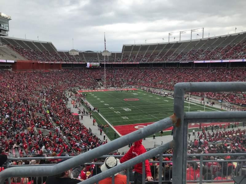 Ohio Stadium, Abschnitt: 33b, Reihe: 2, Platz: 1