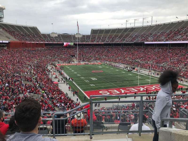 Ohio Stadium, Abschnitt: 33b, Reihe: 6, Platz: 1