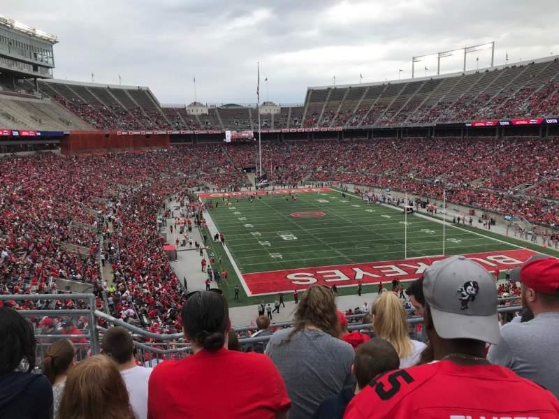 Ohio Stadium, Abschnitt: 35b, Reihe: 7, Platz: 13