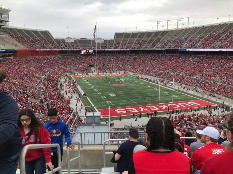 Ohio Stadium, Abschnitt: 35b, Reihe: 16, Platz: 33