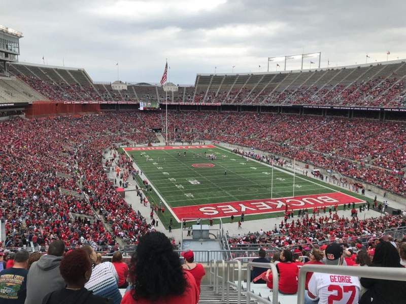 Ohio Stadium, Abschnitt: 33b, Reihe: 24, Platz: 1
