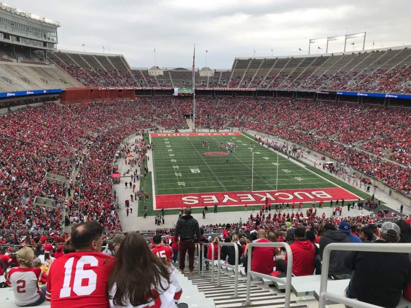 Ohio Stadium, Abschnitt: 35b, Reihe: 30, Platz: 2