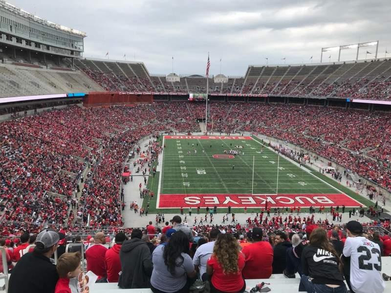 Ohio Stadium, Abschnitt: 37b, Reihe: 30, Platz: 31