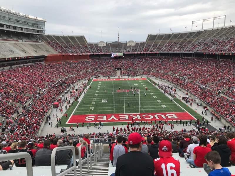 Ohio Stadium, Abschnitt: 39b, Reihe: 29, Platz: 34