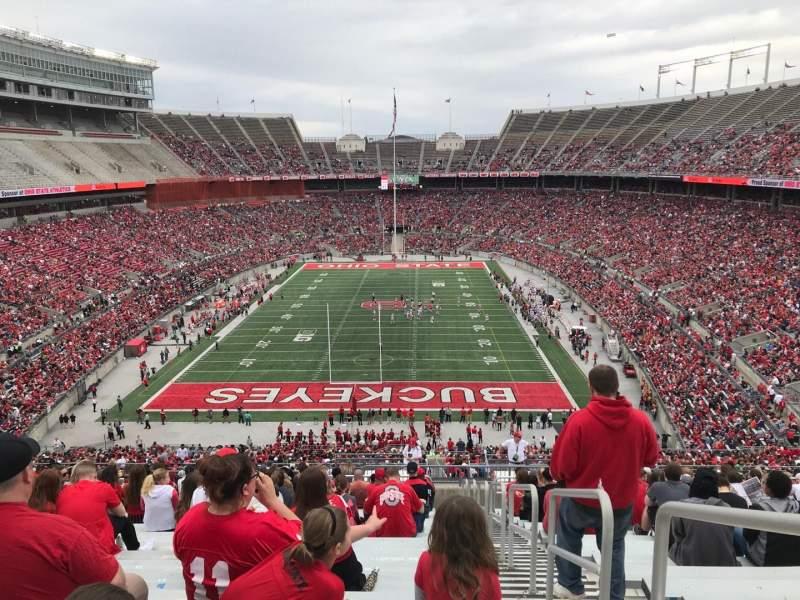 Ohio Stadium, Abschnitt: 39b, Reihe: 30, Platz: 1