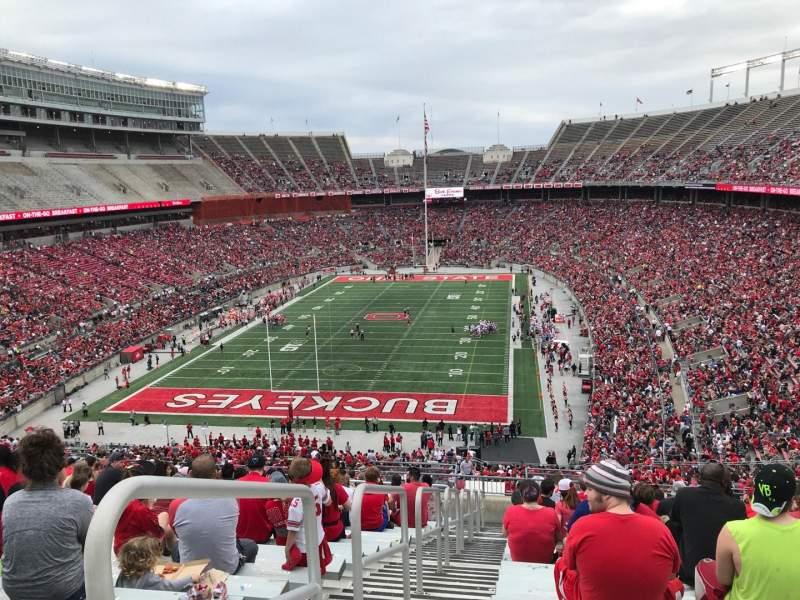 Ohio Stadium, Abschnitt: 36b, Reihe: 30, Platz: 38