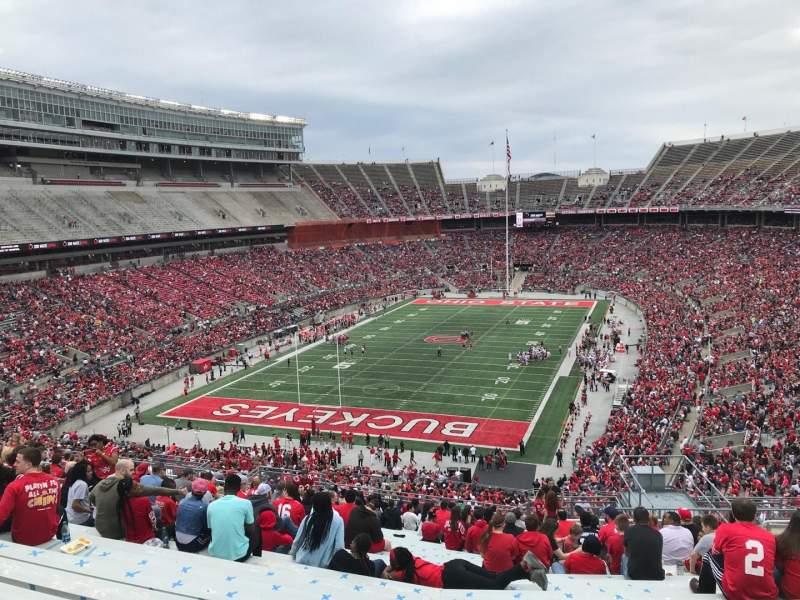 Ohio Stadium, Abschnitt: 36b, Reihe: 30, Platz: 11