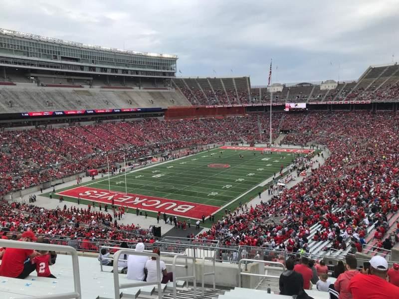 Ohio Stadium, Abschnitt: 32b, Reihe: 21, Platz: 15