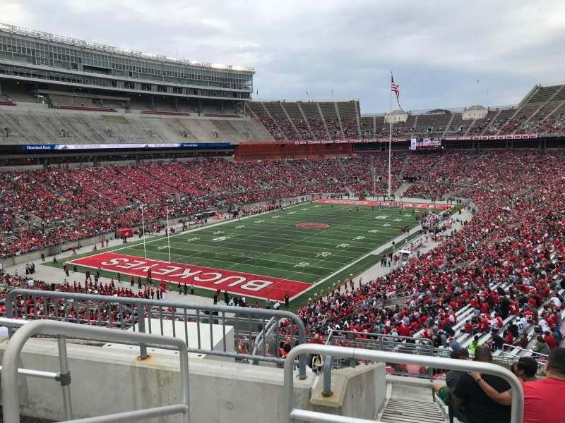 Ohio Stadium, Abschnitt: 32b, Reihe: 12, Platz: 16
