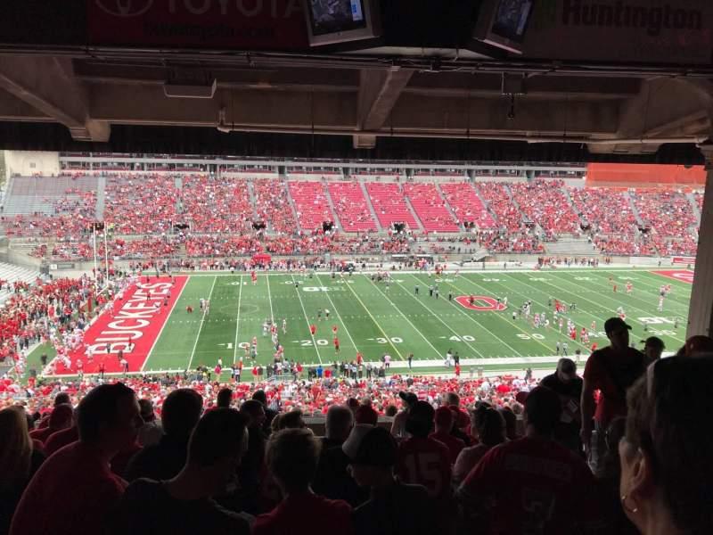 Ohio Stadium, Abschnitt: 22B, Reihe: 11, Platz: 6