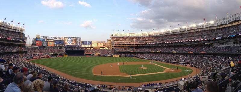 Sitzplatz-Aussicht für Yankee Stadium Abschnitt 225 Reihe 4 Platz 13