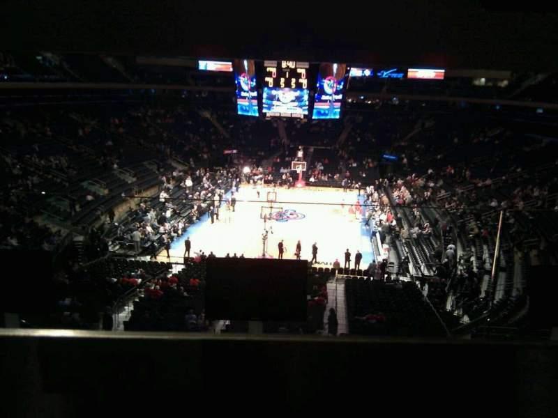 Madison Square Garden Abschnitt 203 Reihe Bar Rail