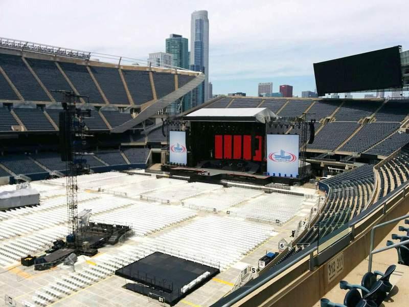 Sitzplatz-Aussicht für Soldier Field Abschnitt 312 Reihe 3 Platz 8