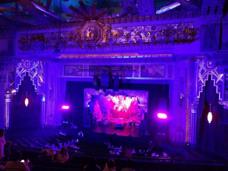 Sitzplatz-Aussicht für Hollywood Pantages Theatre Abschnitt Mezzanine RC Reihe h Platz 209