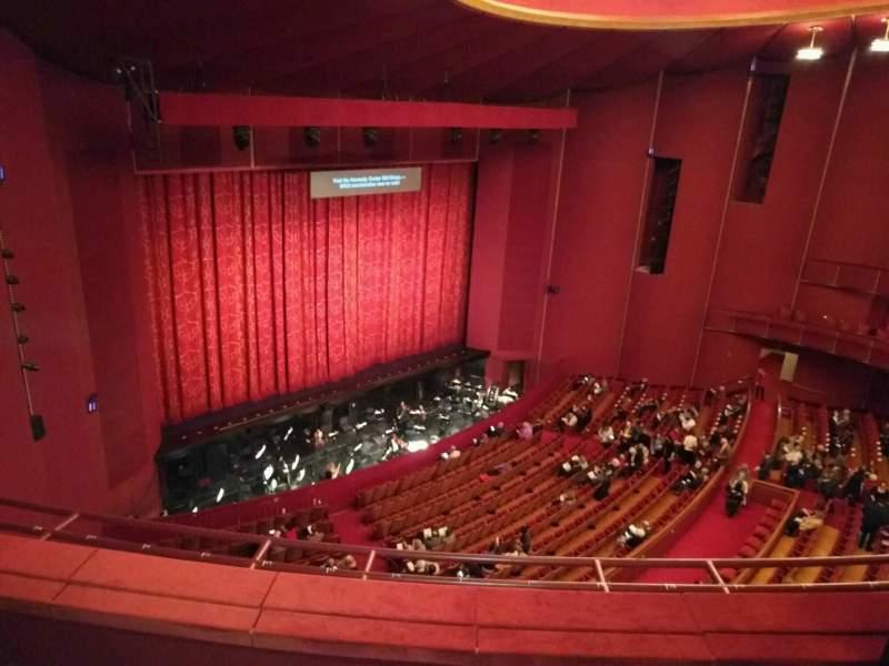 Sitzplatz-Aussicht für The Kennedy Center Opera House Abschnitt 2nd Tier Reihe c Platz 9
