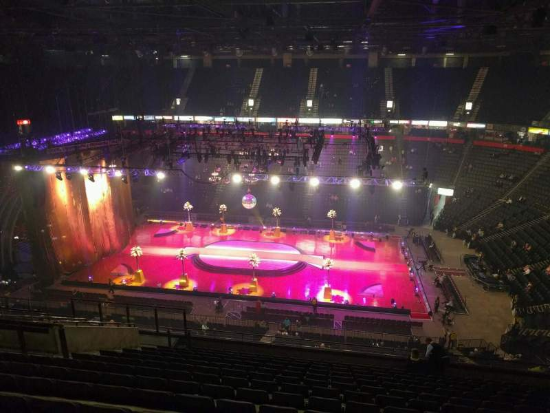Manchester Arena, Abschnitt: 204, Reihe: p, Platz: 13