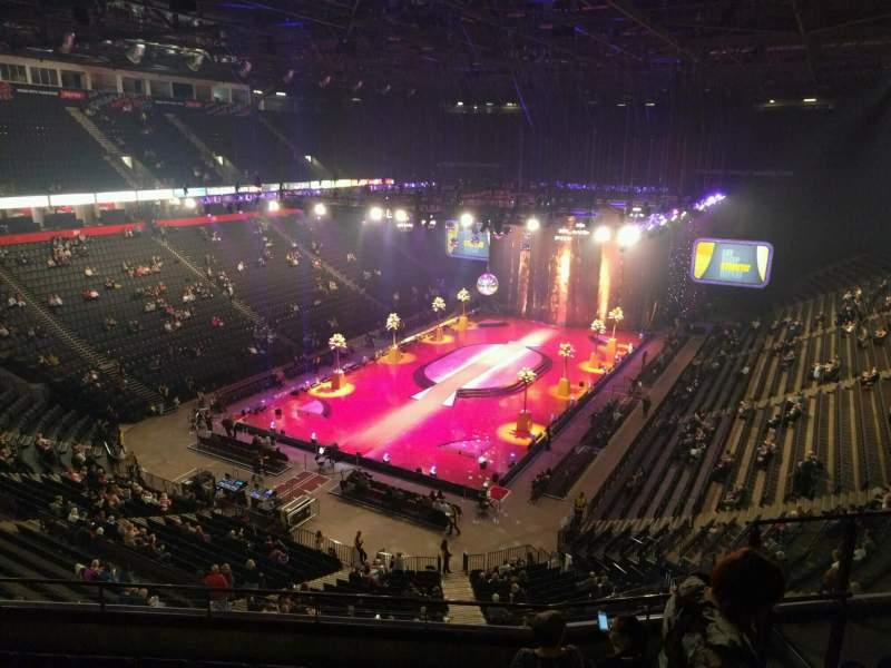 Manchester Arena, Abschnitt: 210, Reihe: g, Platz: 17