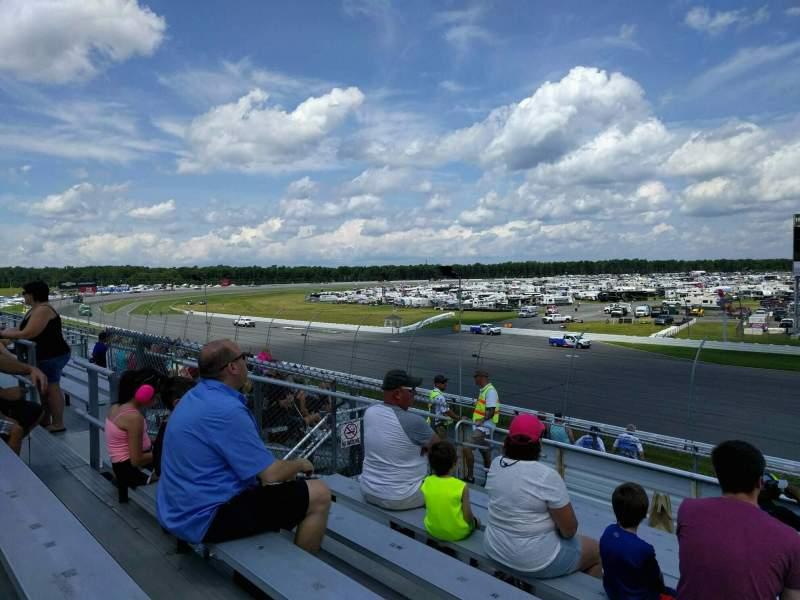 Pocono Raceway, Abschnitt: 242, Reihe: 10, Platz: 14