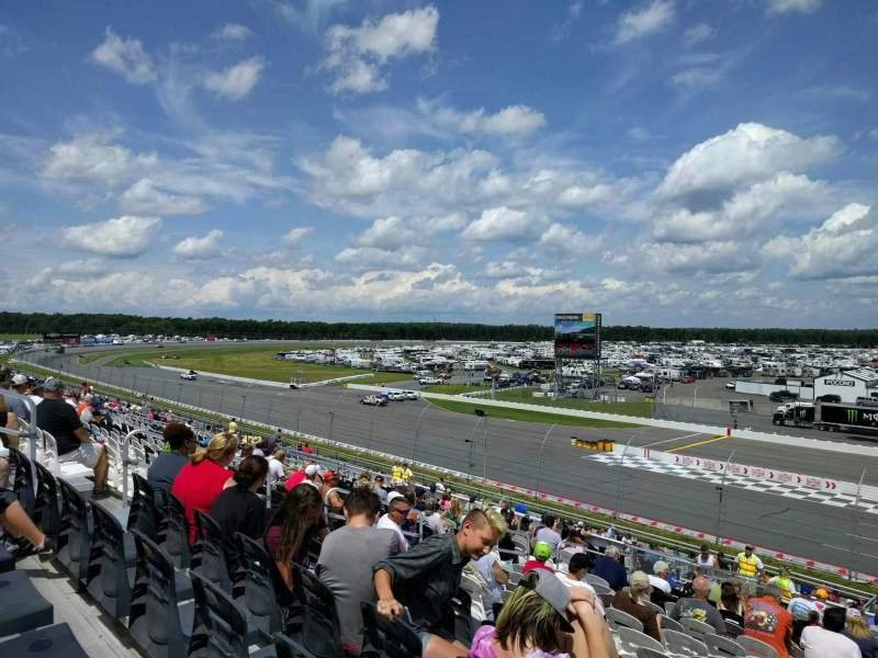 Pocono Raceway, Abschnitt: 238, Reihe: 41, Platz: 12