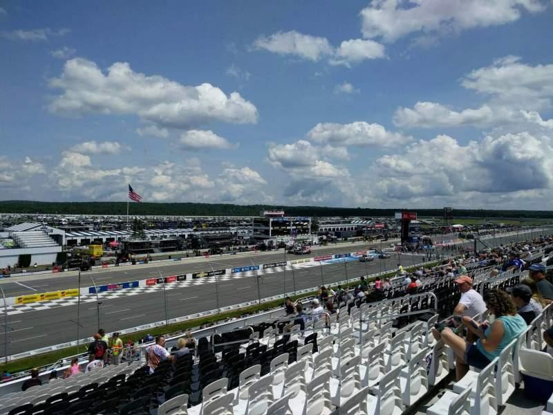 Pocono Raceway, Abschnitt: 236, Reihe: 37, Platz: 12