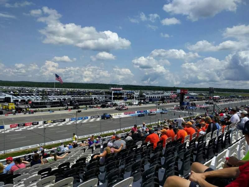 Pocono Raceway, Abschnitt: 234, Reihe: 39, Platz: 18