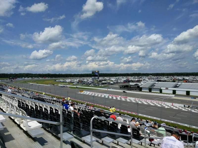 Pocono Raceway, Abschnitt: 234, Reihe: 38, Platz: 18