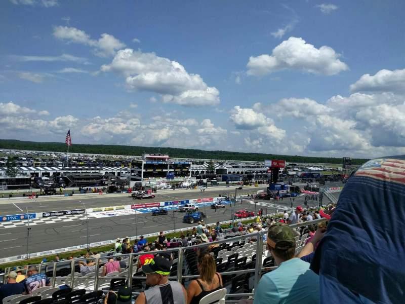 Pocono Raceway, Abschnitt: 232, Reihe: 40, Platz: 5