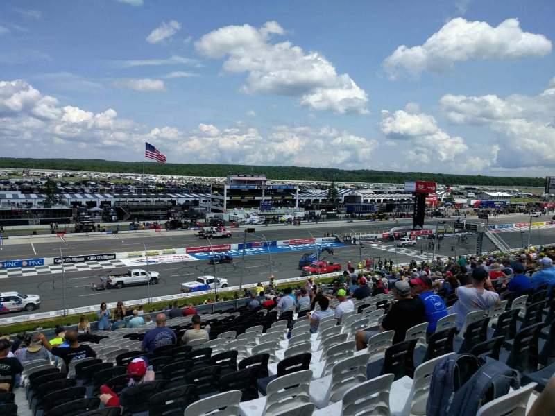Pocono Raceway, Abschnitt: 230, Reihe: 40, Platz: 20