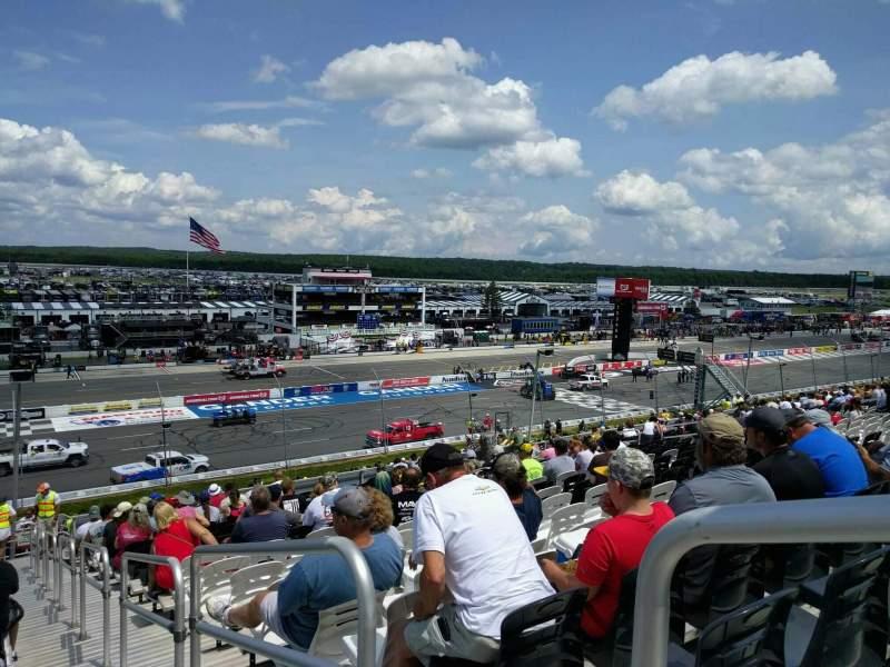 Pocono Raceway, Abschnitt: 229, Reihe: 39, Platz: 1