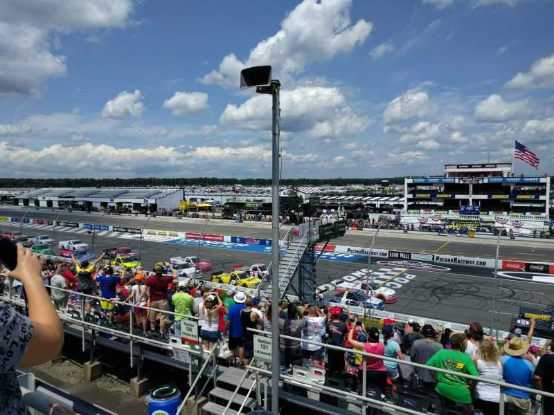 Pocono Raceway, Abschnitt: 225, Reihe: 19, Platz: 21