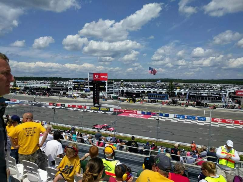 Pocono Raceway, Abschnitt: 220, Reihe: 23, Platz: 21