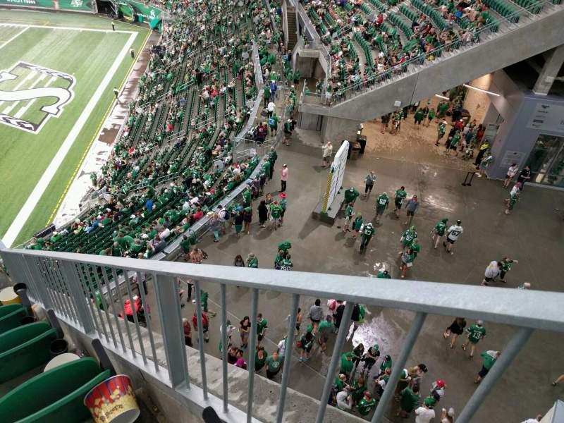 Sitzplatz-Aussicht für Mosaic Stadium Abschnitt 530 Reihe 5 Platz 2