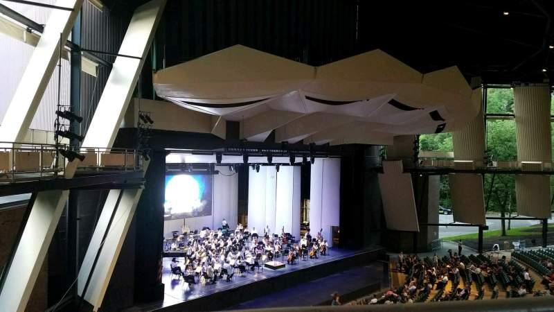Sitzplatz-Aussicht für Saratoga Performing Arts Center Abschnitt 19 Reihe A Platz 14
