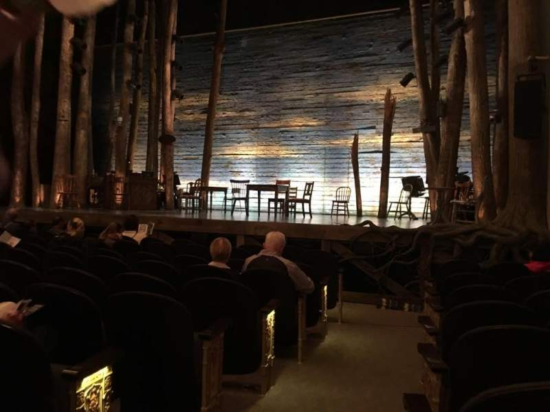 Gerald Schoenfeld Theatre, Abschnitt: Orchestra Right, Reihe: H, Platz: 2