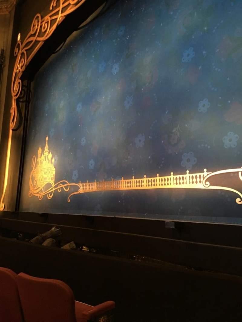 Broadhurst Theatre, Abschnitt: Orchestra Right, Reihe: C, Platz: 2