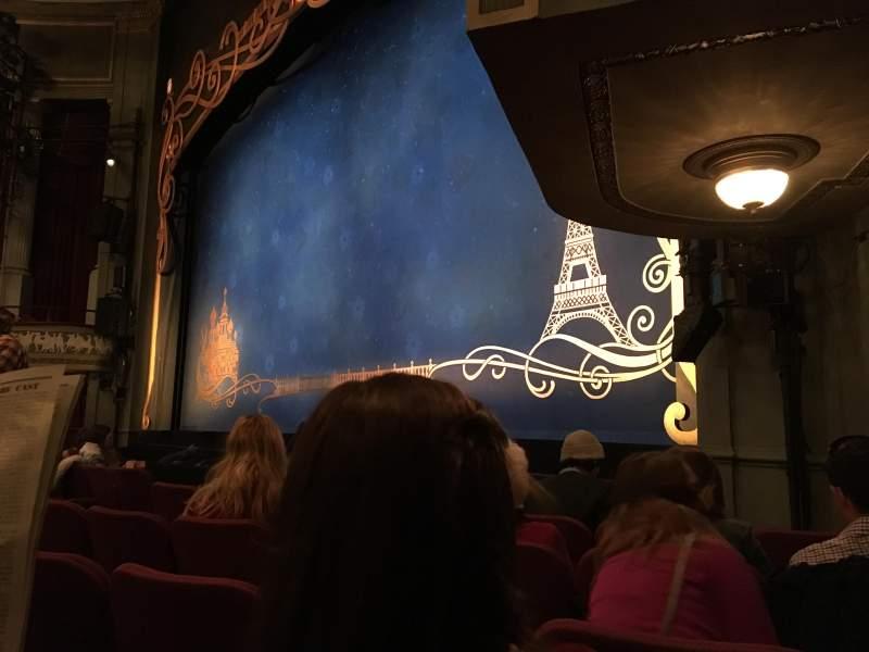 Broadhurst Theatre, Abschnitt: Orchestra, Reihe: F, Platz: 20