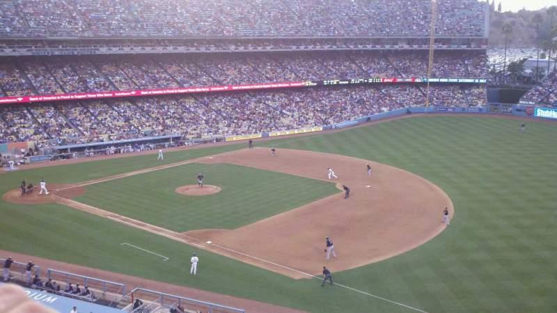 Sitzplatz-Aussicht für Dodger Stadium Abschnitt 32RS Reihe A Platz 6