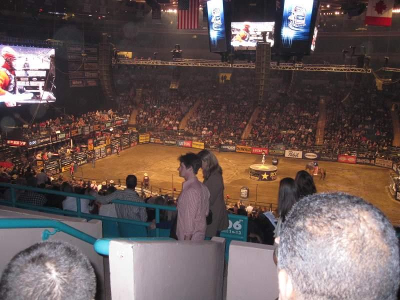 Sitzplatz-Aussicht für Madison Square Garden Abschnitt 208 Reihe 4 Platz D1