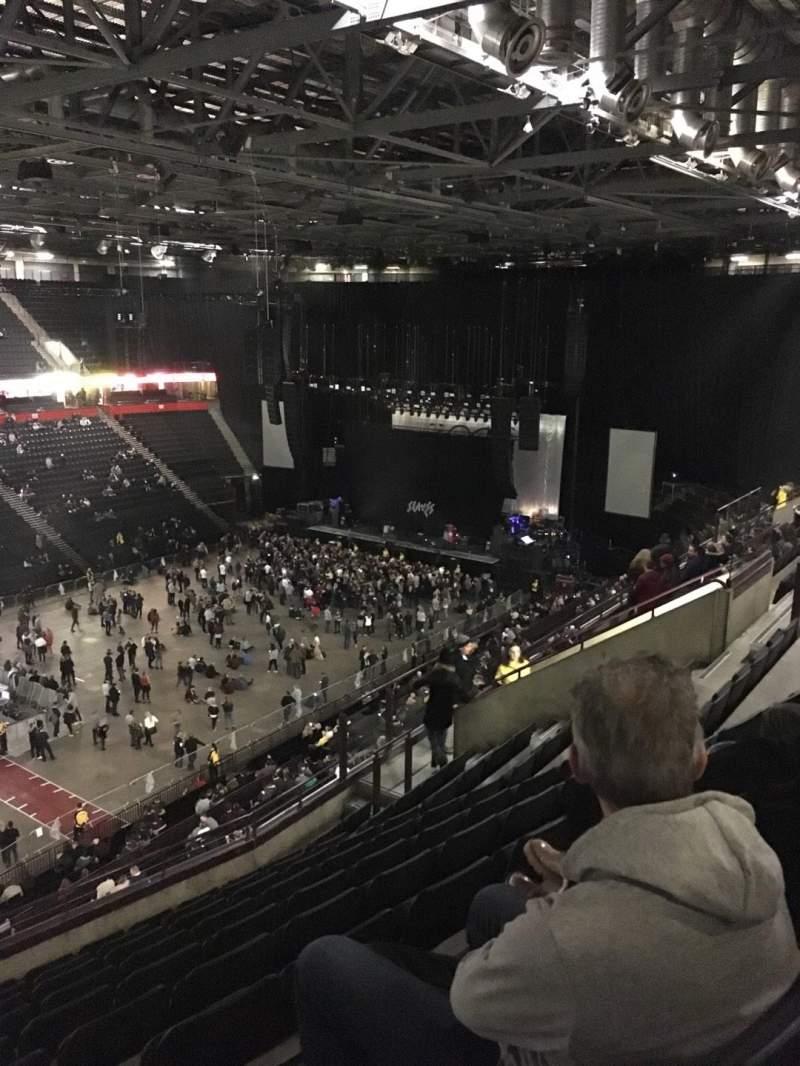 Manchester Arena, Abschnitt: 212, Reihe: K, Platz: 10
